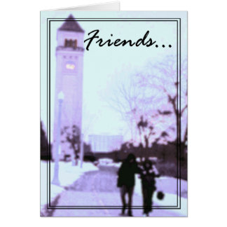 Friends Greeting Card 1