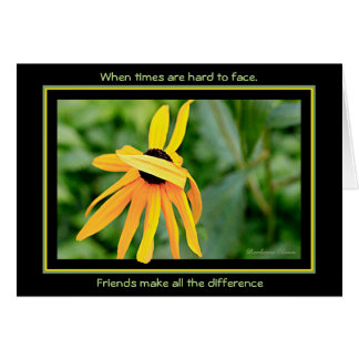 Friends Make all the difference Card