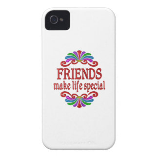 Friends Make Life Special iPhone 4 Cover