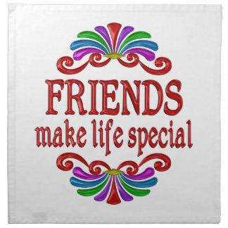 Friends Make Life Special Napkin