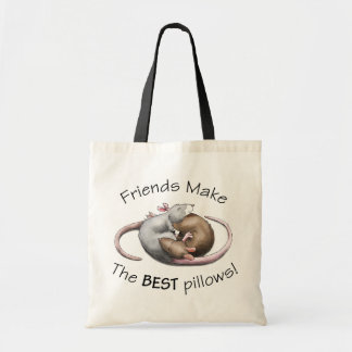 Friends make the BEST pillows! - rat bag