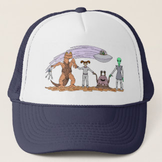 Friends No Matter The Differences Trucker Hat