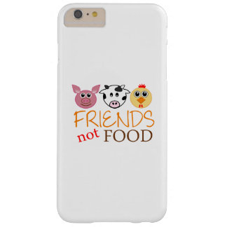 Friends Not Food Barely There iPhone 6 Plus Case