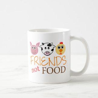 Friends Not Food Coffee Mug