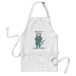 Friends Of Felines Cat Designs Standard Apron