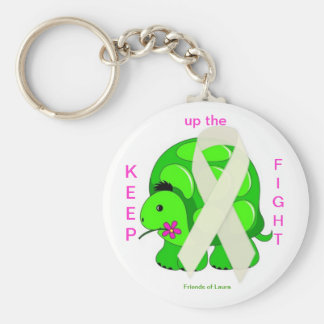 Friends of Laura, Keep up the Fight Key Chain