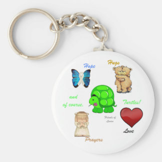 Friends of Laura Key Chain 2