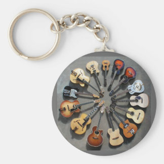 Friends of Music Basic Round Button Key Ring