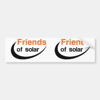 Friends Of Solar Bumper Sticker
