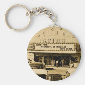 Friends of the Irving Theater Keychain
