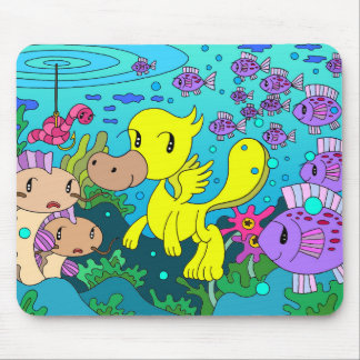 Friends of the lake mouse pad
