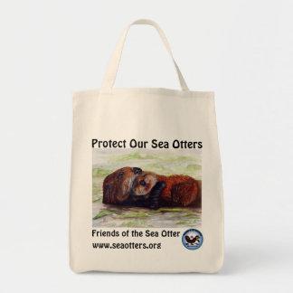 Friends of the Sea Otter Organic Cotton Tote