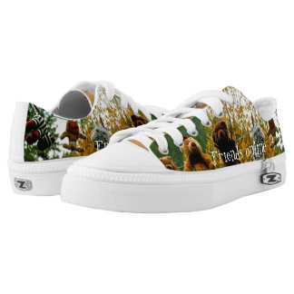 Friends Online Low Top Shoes Printed Shoes