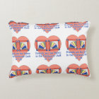 Friends - Quilt Pattern Decorative Cushion