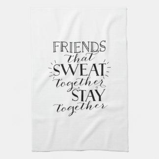 Friends Sweat Workout Towel