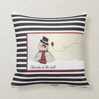 Friends to the End | Christmas Snowmen Cushions