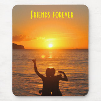 Friends together mouse pad