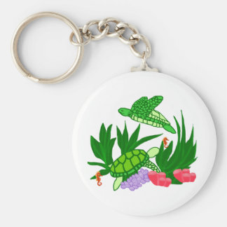 Friends under the sea key chain