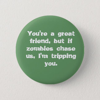 Friends vs. Zombies Button