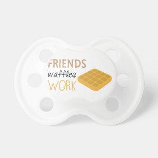 Friends Waffles Work Dummy