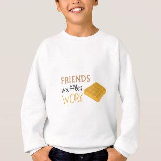 Friends Waffles Work Sweatshirt