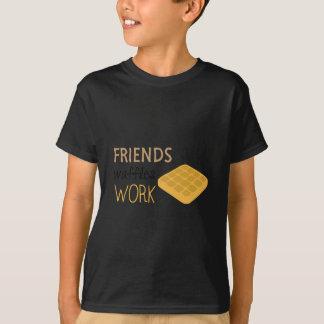 Friends Waffles Work T-Shirt