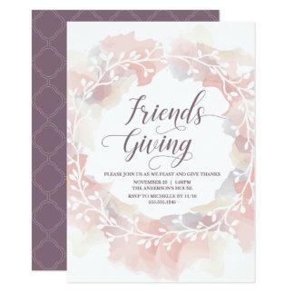 Friendsgiving, Friends Giving Fall Invitation
