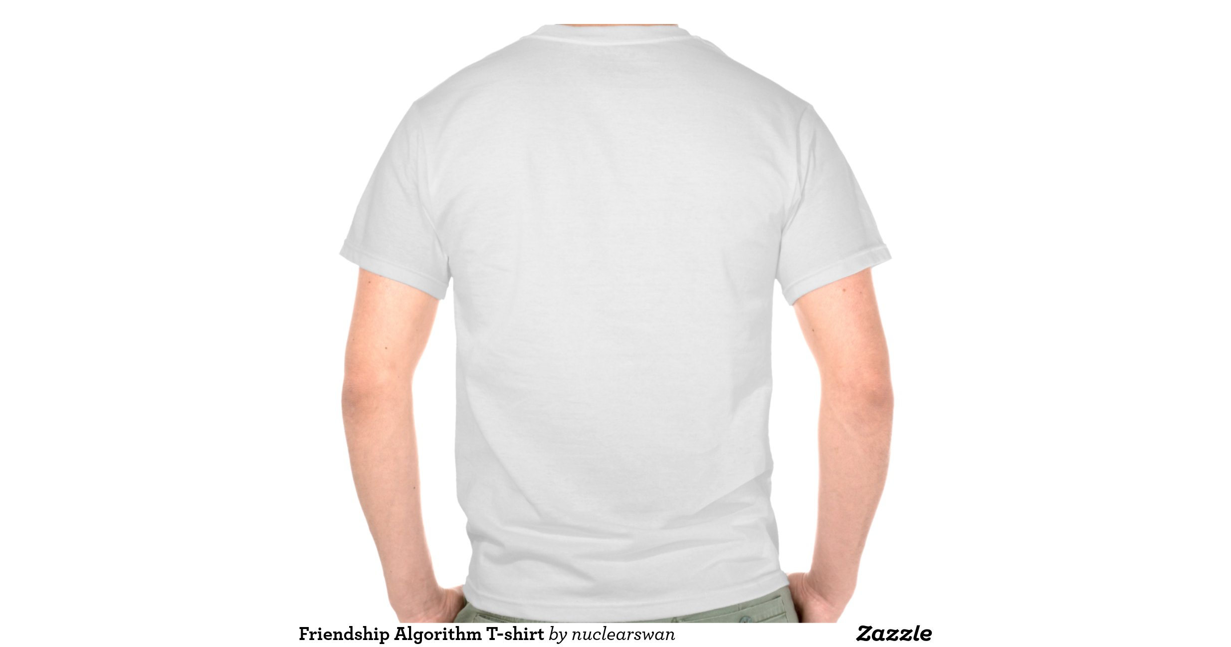 Friendship Algorithm t Shirt Friendship Algorithm T-shirt  