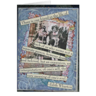 Friendship Box Collage Card