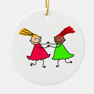 Friendship Ceramic Ornament