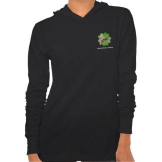 Friendship Gardens Logo- Jersey Hoodie Black