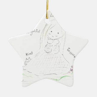 Friendship Girl Christmas Ornaments