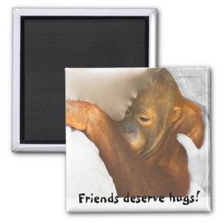 Friendship Hug Magnet