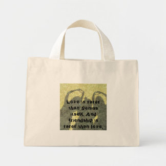Friendship is Rare Tote Bag