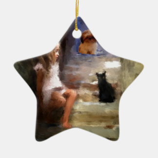 friendship is unnecesary christmas ornaments