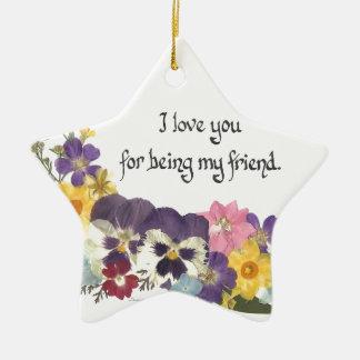 Friendship Love Ornament