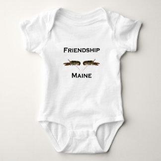 Friendship Maine Lobsters Baby Bodysuit