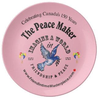 Friendship & Peace Plate