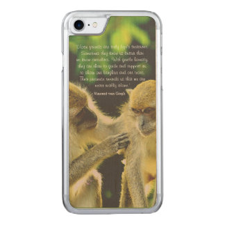 Friendship Quote by Vincent van Gogh Carved iPhone 7 Case
