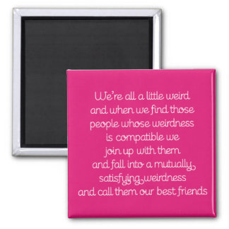 Friendship Quote Magnet
