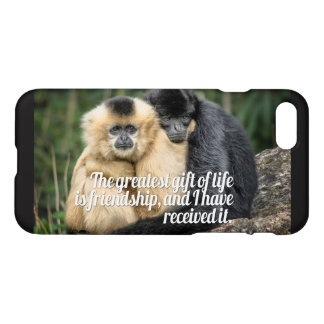 Friendship quotes iPhone 7 case