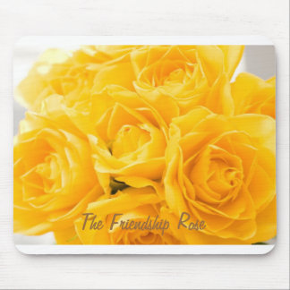 Friendship Rose Mouse Pad