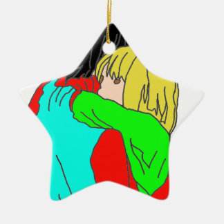 FRIENDSHIP SIMPLE GARS png GIRL Ornament