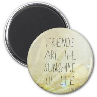 Friendship & Sunshine Magnet