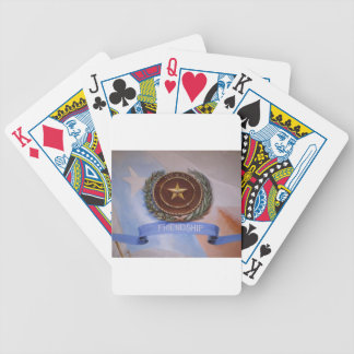 Friendship - The Texas Way Bicycle Playing Cards