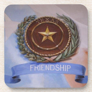 Friendship - The Texas Way Drink Coasters