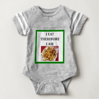 fries baby bodysuit