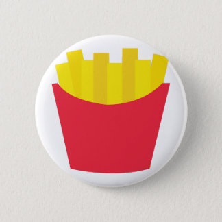 Fries_Base 6 Cm Round Badge