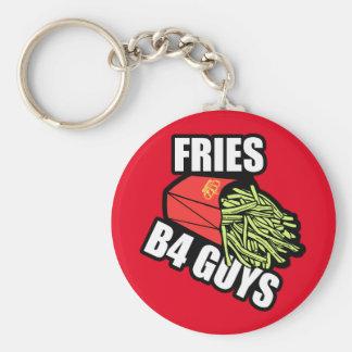 Fries Before Guys Key Ring