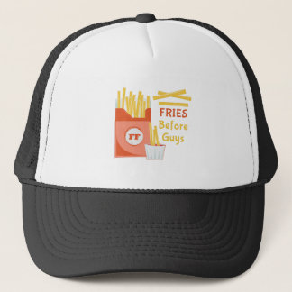Fries Before Guys Trucker Hat